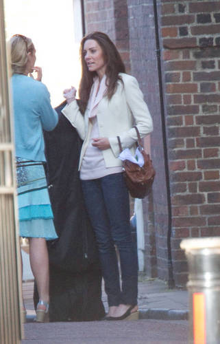 Kate Middleton; At Clarence House