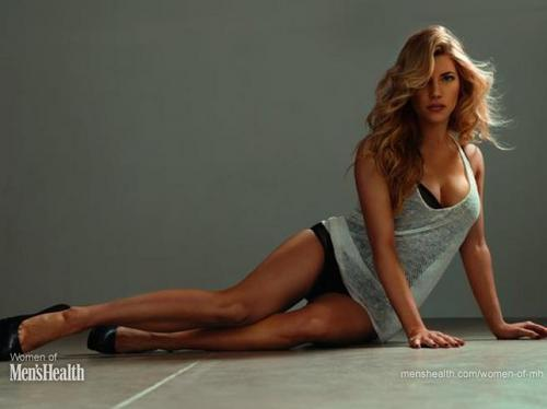 Katheryn Winnick Photoshoot with Don Flood for Men's Health Magazine