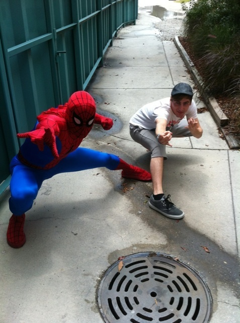 Kendall & Spiderman