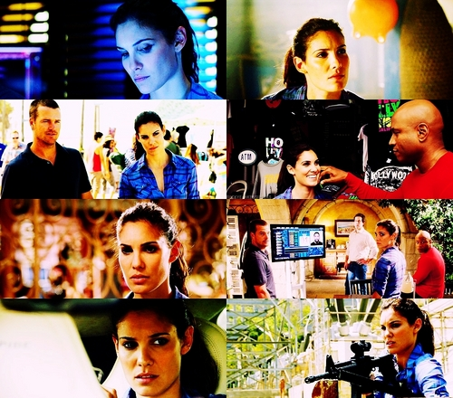 NCIS: Los Angeles Обои probably with an electric refrigerator titled Kensi Blye