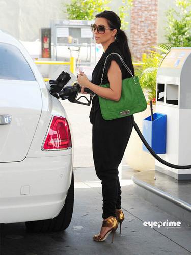Kim Kardashian in Beverly Hills,