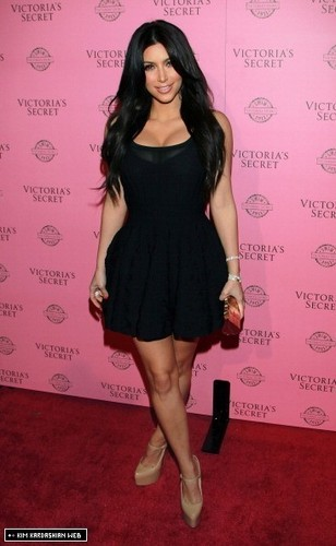 Kim @ Victoria's Secret celebrate the 2011 Swim Collection