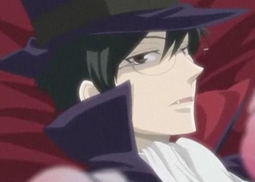 Kyoya vampire