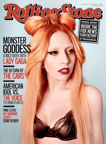 Lady GaGa on RollingStone (Better Quality)