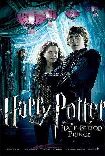 Lavender Brown with Ron Weasley on poster