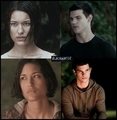 Leah and Jacob = EclipseMovie - jacob-black-and-leah-clearwater fan art