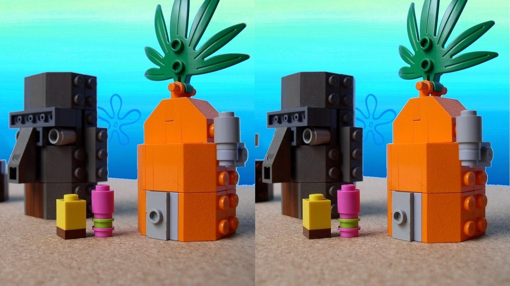 Background image bottom 0 - Lego Spongebob Squarepants Images Little Lego Bikini Bottom Hd Wallpaper And Background Photos
