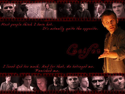Lucifer Supernatural Wallpaper