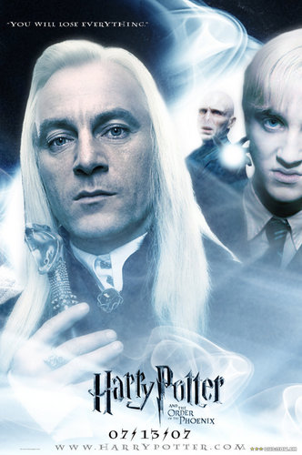 Lucius Malfoy poster