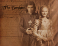 Lucrezia and Cesare - the-borgias wallpaper