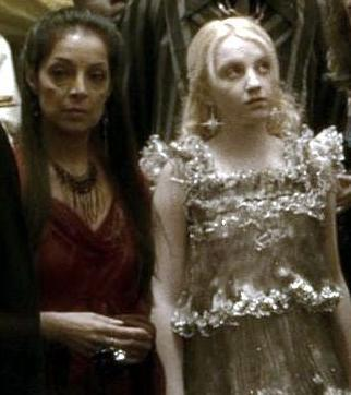 Luna Lovegood with Aurora Sinistra