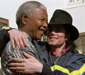 MJ  and NM - nelson-mandela photo