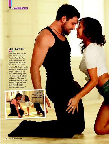 Maks & Cheryl- People Magazine