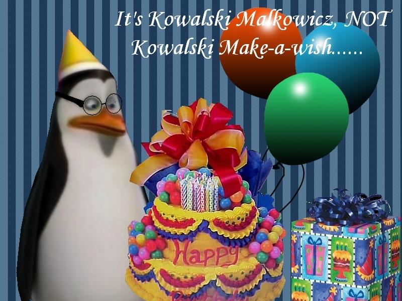 Malkowicz NOT Make-a-wish