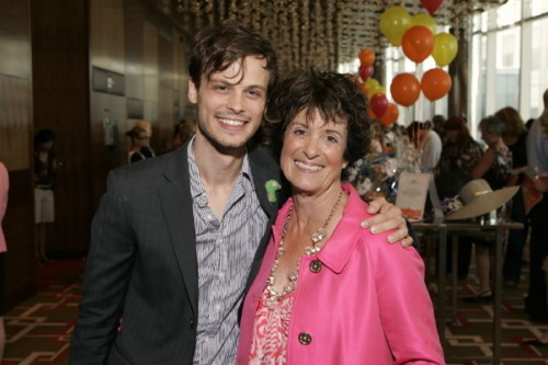 Matthew Gray Gubler images Matthew and his mom. wallpaper and background photos