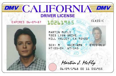 Michael J. 狐, フォックス as Marty McFly ` Back to The Future!