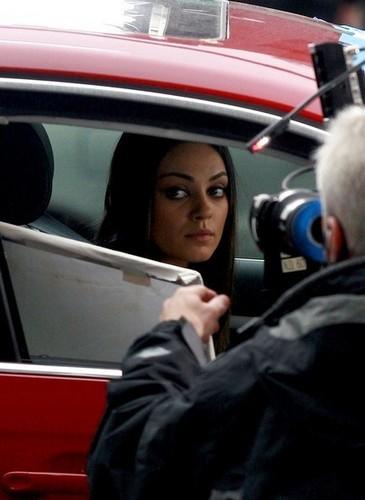 Mila Kunis and Mark Wahlberg Films 'Ted'