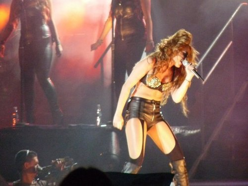 Miley - Gypsy Heart Tour (2011)  On Stage  San Jose, Costa Rica - 21st May 2011