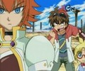 Mira and dan - bakugan-battle-brawlers screencap