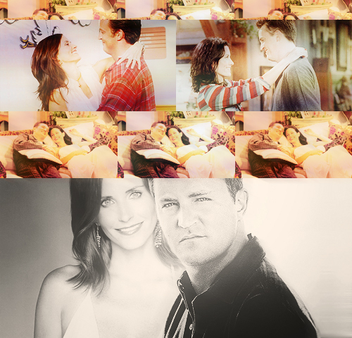 Monica and Chandler wallpaper titled Mondler