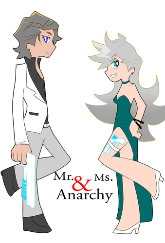 Mr. and Mrs anarchy