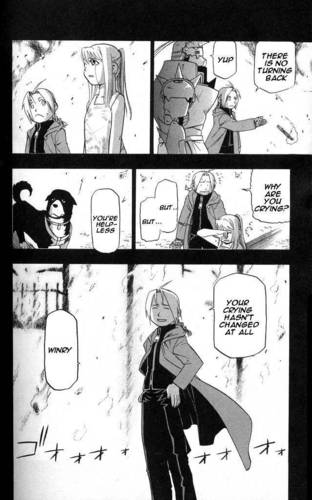 My favorit EdWin FMA komik jepang moments