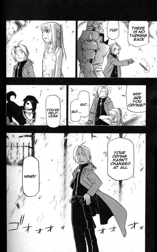 My favorite EdWin FMA manga moments