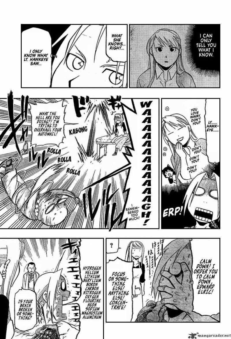 My kegemaran EdWin FMA Manga moments