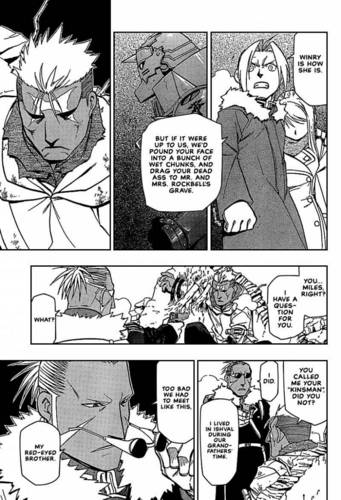 My favorito EdWin FMA mangá moments