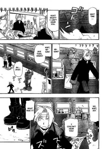 My favoriete EdWin manga moments