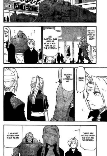 My favoriete FMA EdWin manga moments