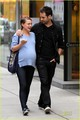 Natalie Portman & Benjamin Millepied: Kissy Dinner Date - natalie-portman photo