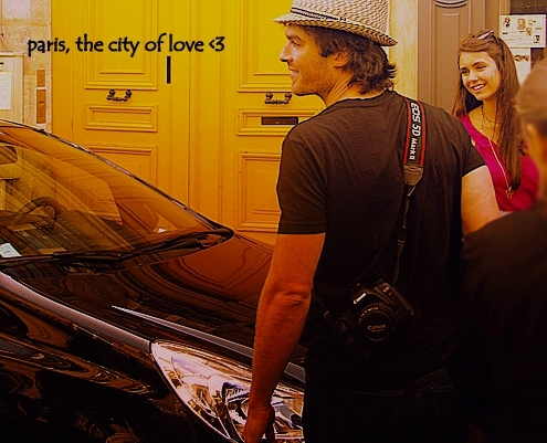 Nian in paris, city of tình yêu <33
