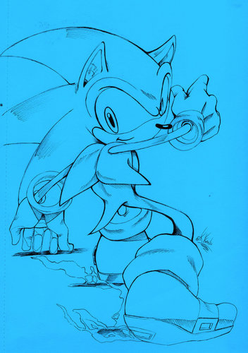 Official Sonic Style (kinda x3) in blue