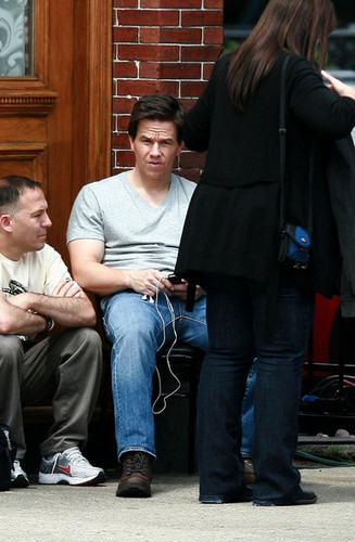 On Set of 'Ted'
