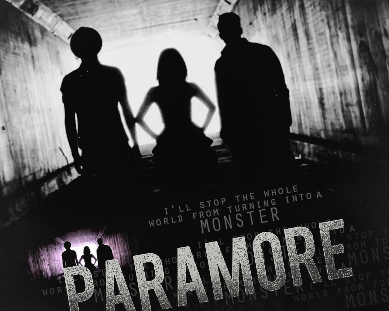 "Paramore ""Monster"" Wall - Paramore Wallpaper (22396393 ..."