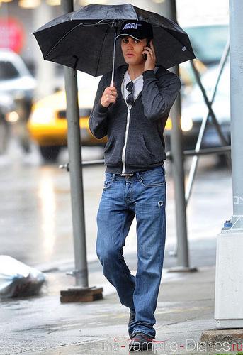 Paul Wesley in New York City (20.05.11)
