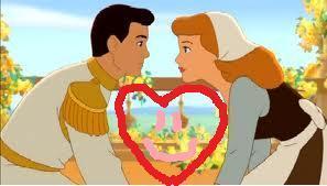 Prince Charming and Cendrillon