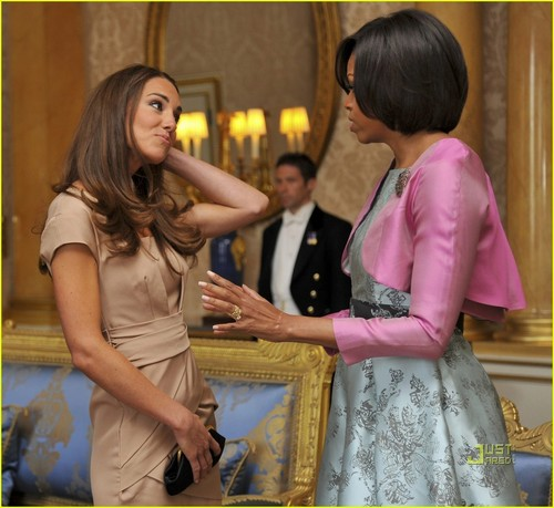 Prince William & Kate Middleton Meet President Obama