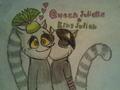 Queen Juliette and King Julien :))