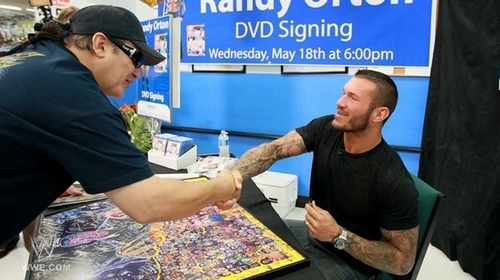 Randy orton dvd signing