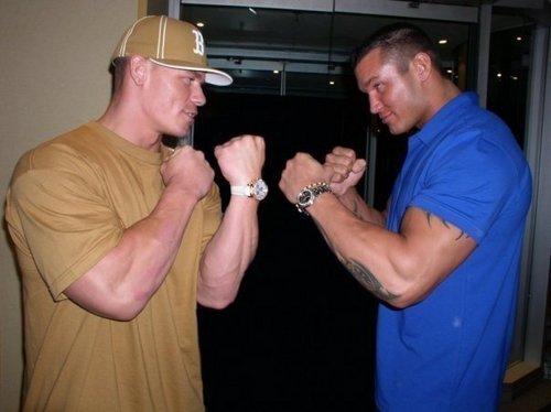 Randy orton & john cena