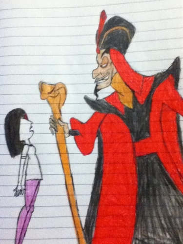 Disney Villains hình nền probably with anime called Rebecca Black's Trance