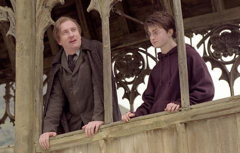 Remus Lupin with Harry Potter
