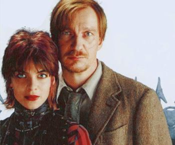 Remus Lupin with Tonks