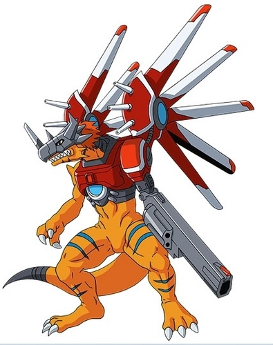 RiseGreymon - digimon Photo