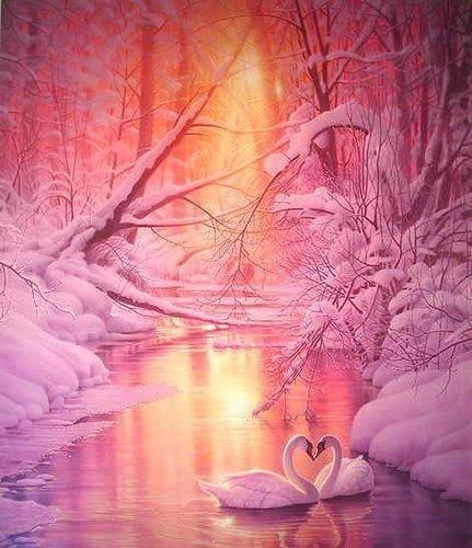 Beautiful Nature Wallpaper Called Romantic Winter