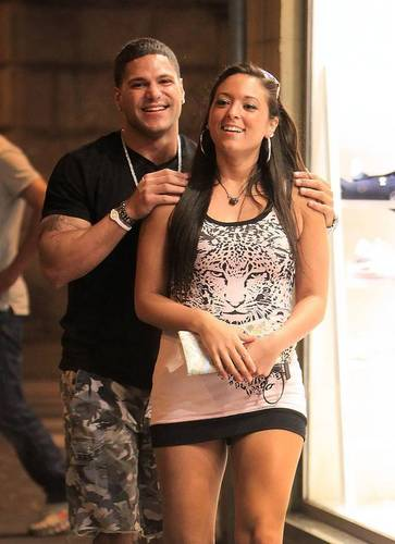 Ronnie and Sammi in Italy - jersey-shore Photo