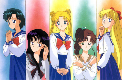 Sailor Moon Characters - cartoon-fanatics Photo