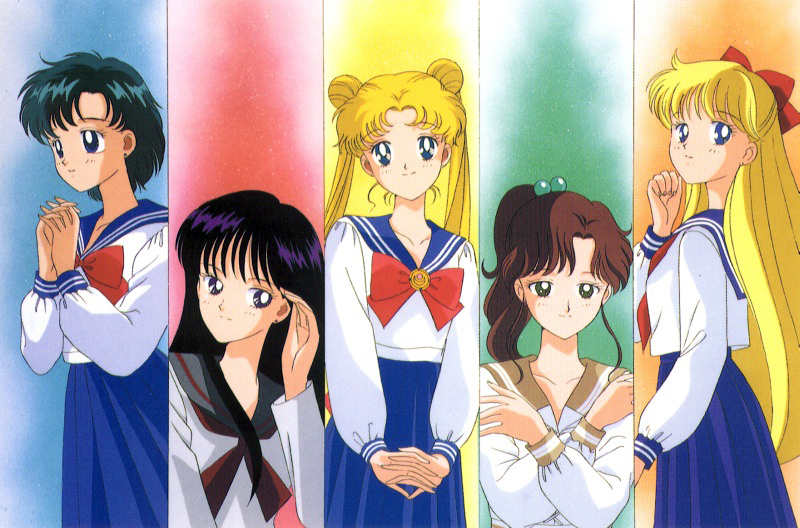 what sailor moon characters - photo #42